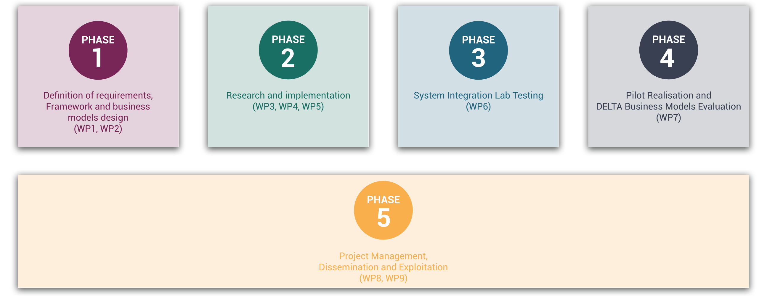 DELTA Project Phases
