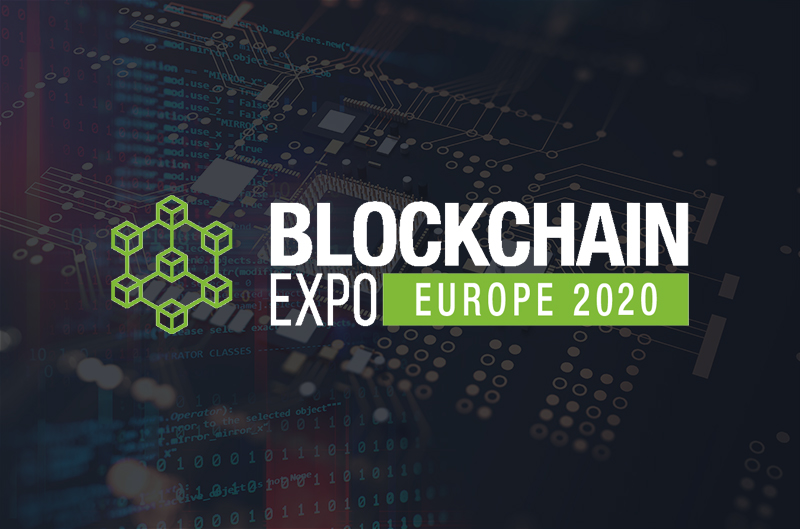Blockchain Expo Europe 2020 banner